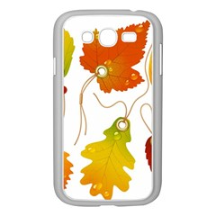 Vector Beautiful Maple Leaf Samsung Galaxy Grand Duos I9082 Case (white)