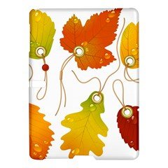 Vector Beautiful Maple Leaf Samsung Galaxy Tab S (10 5 ) Hardshell Case  by Nexatart