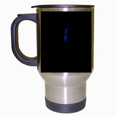 Lines Rays Background Light Pattern Travel Mug (silver Gray)
