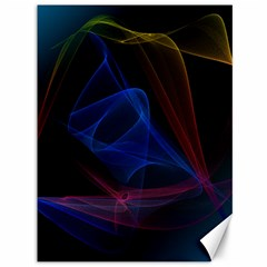 Lines Rays Background Light Pattern Canvas 36  X 48