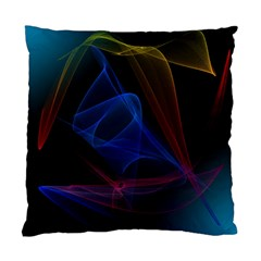 Lines Rays Background Light Pattern Standard Cushion Case (two Sides)