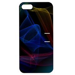 Lines Rays Background Light Pattern Apple Iphone 5 Hardshell Case With Stand