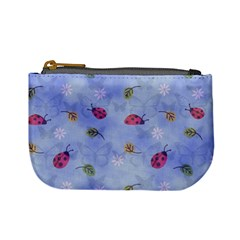 Ladybug Blue Nature Mini Coin Purses