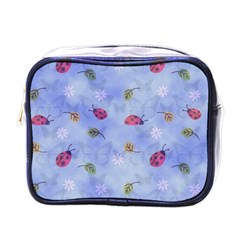 Ladybug Blue Nature Mini Toiletries Bags
