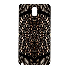 Art Background Fabric Samsung Galaxy Note 3 N9005 Hardshell Back Case by Nexatart
