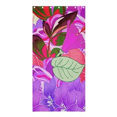 Abstract Flowers Digital Art Shower Curtain 36  X 72  (stall)
