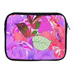 Abstract Flowers Digital Art Apple Ipad 2/3/4 Zipper Cases by Nexatart