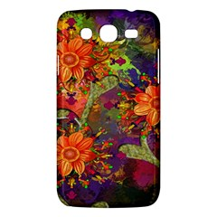 Abstract Flowers Floral Decorative Samsung Galaxy Mega 5 8 I9152 Hardshell Case  by Nexatart