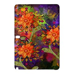 Abstract Flowers Floral Decorative Samsung Galaxy Tab Pro 10 1 Hardshell Case
