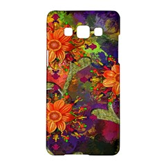 Abstract Flowers Floral Decorative Samsung Galaxy A5 Hardshell Case