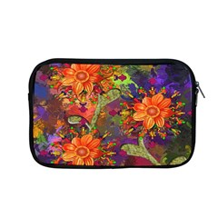Abstract Flowers Floral Decorative Apple Macbook Pro 13  Zipper Case by Nexatart