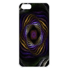 Abstract Fractal Art Apple Iphone 5 Seamless Case (white)
