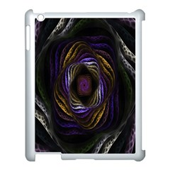 Abstract Fractal Art Apple Ipad 3/4 Case (white)