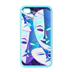 Abstract Mask Artwork Digital Art Apple Iphone 4 Case (color)