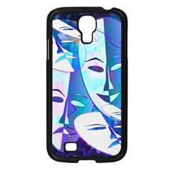 Abstract Mask Artwork Digital Art Samsung Galaxy S4 I9500/ I9505 Case (black) by Nexatart