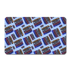 Abstract Pattern Seamless Artwork Magnet (rectangular)