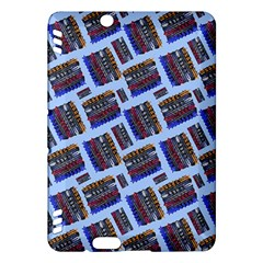 Abstract Pattern Seamless Artwork Kindle Fire Hdx Hardshell Case