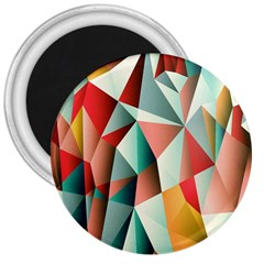 Abstracts Colour 3  Magnets by Nexatart