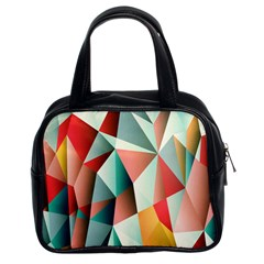 Abstracts Colour Classic Handbags (2 Sides) by Nexatart