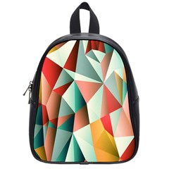 Abstracts Colour School Bags (small)