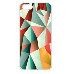 Abstracts Colour Apple Iphone 5 Seamless Case (white) by Nexatart