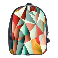 Abstracts Colour School Bags (xl)