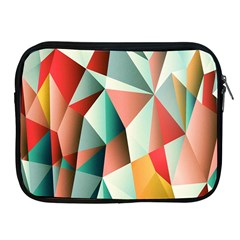 Abstracts Colour Apple Ipad 2/3/4 Zipper Cases by Nexatart
