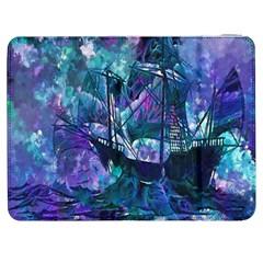 Abstract Ship Water Scape Ocean Samsung Galaxy Tab 7  P1000 Flip Case