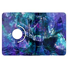 Abstract Ship Water Scape Ocean Kindle Fire HDX Flip 360 Case by Nexatart