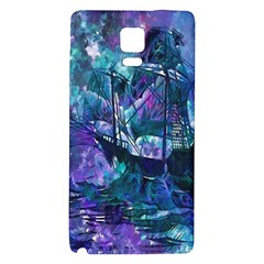 Abstract Ship Water Scape Ocean Galaxy Note 4 Back Case by Nexatart