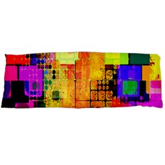 Abstract Squares Background Pattern Body Pillow Case Dakimakura (two Sides)