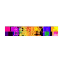 Abstract Squares Background Pattern Flano Scarf (mini) by Nexatart