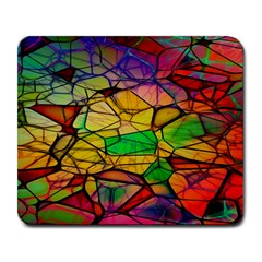 Abstract Squares Triangle Polygon Large Mousepads by Nexatart