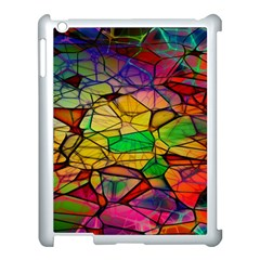 Abstract Squares Triangle Polygon Apple Ipad 3/4 Case (white) by Nexatart