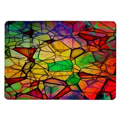 Abstract Squares Triangle Polygon Samsung Galaxy Tab 10 1  P7500 Flip Case by Nexatart