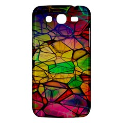 Abstract Squares Triangle Polygon Samsung Galaxy Mega 5 8 I9152 Hardshell Case