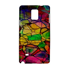 Abstract Squares Triangle Polygon Samsung Galaxy Note 4 Hardshell Case