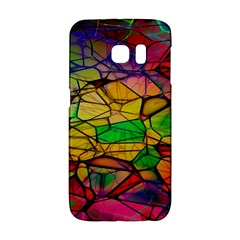 Abstract Squares Triangle Polygon Galaxy S6 Edge by Nexatart