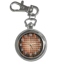 Abstract Texture Background Pattern Key Chain Watches