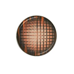 Abstract Texture Background Pattern Hat Clip Ball Marker