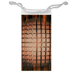 Abstract Texture Background Pattern Jewelry Bag