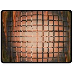 Abstract Texture Background Pattern Fleece Blanket (large)