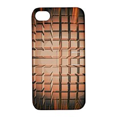 Abstract Texture Background Pattern Apple Iphone 4/4s Hardshell Case With Stand