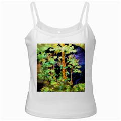 Abstract Trees Flowers Landscape Ladies Camisoles by Nexatart