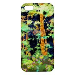 Abstract Trees Flowers Landscape Iphone 5s/ Se Premium Hardshell Case