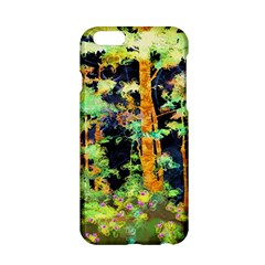 Abstract Trees Flowers Landscape Apple Iphone 6/6s Hardshell Case