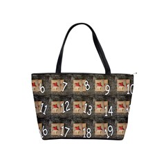 Advent Calendar Door Advent Pay Shoulder Handbags by Nexatart