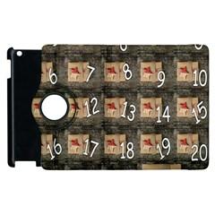 Advent Calendar Door Advent Pay Apple Ipad 2 Flip 360 Case by Nexatart