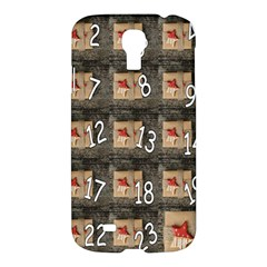 Advent Calendar Door Advent Pay Samsung Galaxy S4 I9500/i9505 Hardshell Case by Nexatart