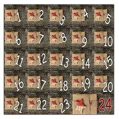 Advent Calendar Door Advent Pay Large Satin Scarf (square) by Nexatart